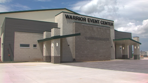 Boone-Apache Public Schools gives a sneak peek of the new Warrior Event Center